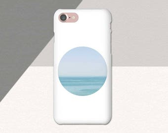 Minimalist Ocean iPhone Case, Minimal Phone Case, Beach iPhone Case, Water iPhone 6 Plus Case, iPhone 7 Plus, iPhone 6s Case, Phone Case SE