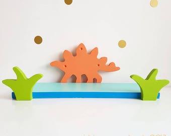 Dinosaur Shelf, Steggo Shelf, Stegosaurus shelf, Stegosaurus, Dinosaur, Dino Shelf