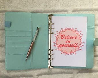 PRE-ORDER - BLUE Organiser - Cover + Slimming World Friendly - Food Planner Diary - Diet Tracker