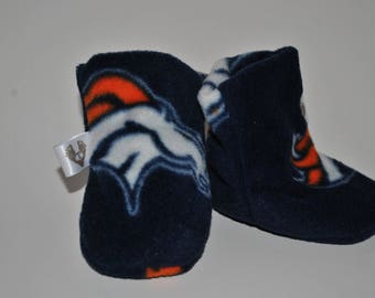 Toes-T-Toes Slippers (Broncos Blue)
