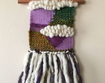 Handmade/Handwoven Wall Weaving, Wall Art, Fiber Art, Home Decor