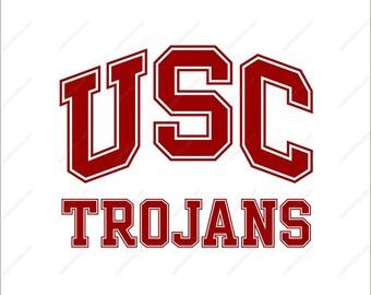 USC Trojans Svg football party Svg Dxf Eps Png Ai Digital File design Print Mug Shirt Decal