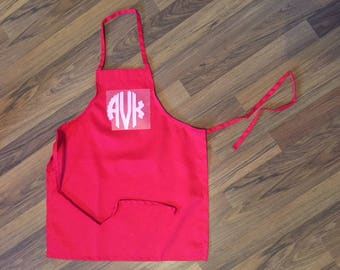 Little Girls Apron Valentines day gift