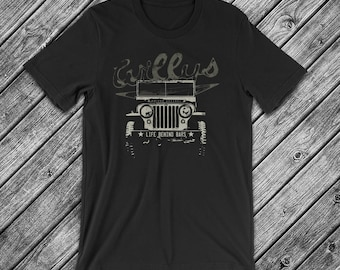 Willys Jeep - Life Behind Bars t-Shirt