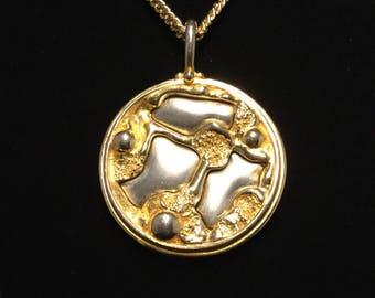 KENNETH LANE BRUTALIST Necklace/Pendant