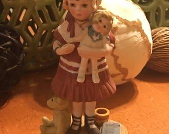 Jan Hagara Girl Lydia And The Shirley Temple Doll