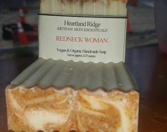 Redneck Woman Organic Soap, Heartland Ridge, Artisan, Handmade, Homemade