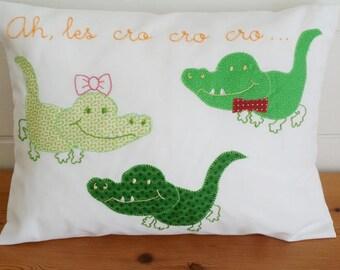 Nursery rhymes cushion * ahem cro cro cro... *.