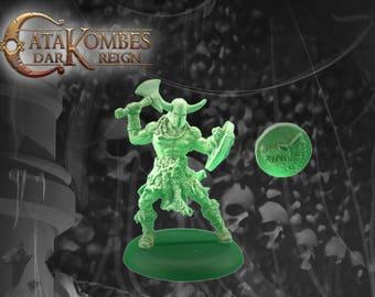 Figurine héros barbare : Torgils evolution