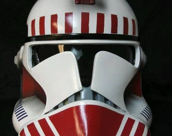 Star Wars Prop Shock Trooper Wearable costume adult EP3 clone helmet costume