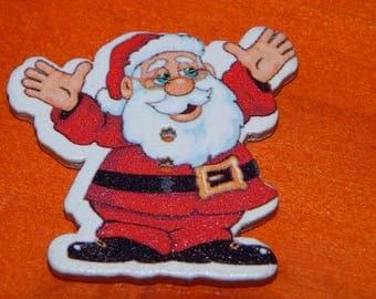Santa Claus button individually