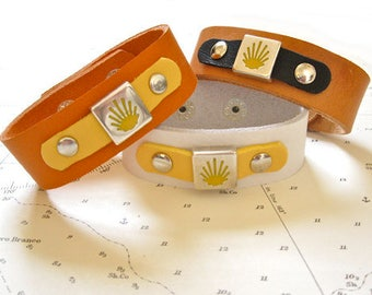 Camino Way-marker symbol bracelet of St James Way