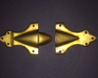 Hardware draw bolt for Antique Trunk restoration - new old stock NOS