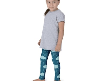 Its Snowing Kid's leggings
