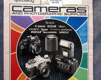 Summer Sale Sears Camera and Photogaphic Supplies Catalog 1982-83