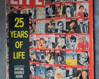 S Life Magazine  December 26, 1960 Double Issue! 25 Years of Life