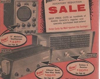 Radio Shack 1962 Spring and Summer Catalog No. 119