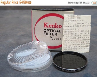 Kenko 49 mm Neutral Density ND4 filter with case, box and instruction