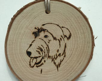Dog ornament Irish Wolfhound