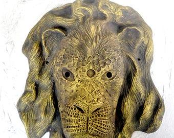 Handmade sculpture   Fantasy Mask