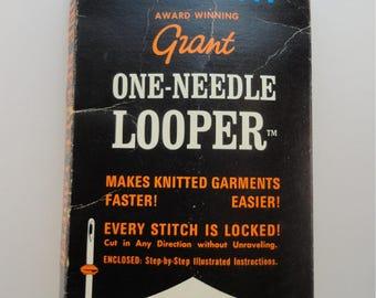 Vintage 1970s One-Needle Knitting Looper