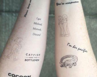 CATB Temporary Tattoos