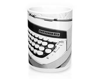 15Oz Typewriter Mug  Smith Corona Classic 12
