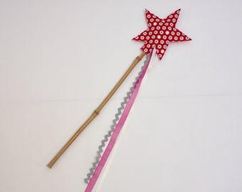 Magic wand raspberry fairy patterned