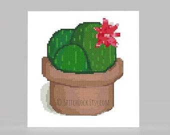Cactus Cross Stitch Pattern