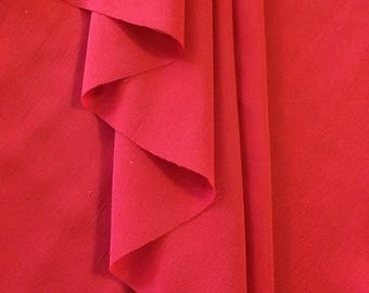 Womens Chiffon Ballet Wrap Skirt - Crimson