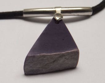 Charoite with 1st content Silver (sterling).