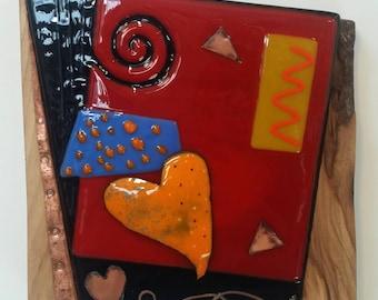 Flamboyant Heart Wall Art