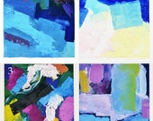 CHOOSE ONE | 5x7 Abstract Oil Paintings | Small Art Works on Paper