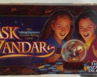 Milton Bradley Ask Zandar Board Game