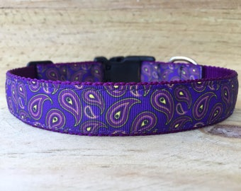 Pretty in Purple Dog Collar