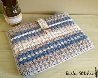 Crochet Laptop Case PDF Pattern