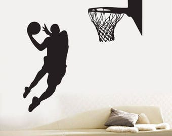 """Basketball player"" decal"
