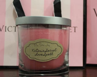 Victoria Secret Love Spell Soy Candle