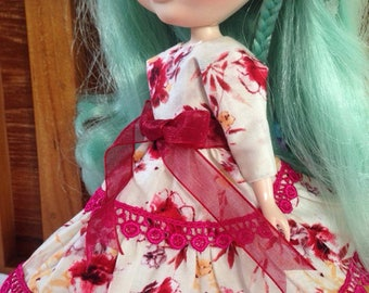 Dress for Blythe Pullip Bjd Licca doll