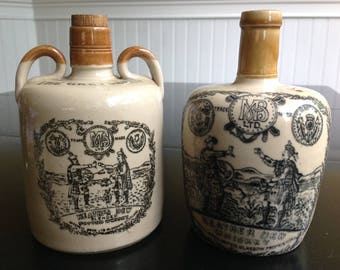 Antique & Vintage Heather Dew The Greybeard Stoneware Jug
