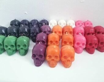 Little skull candles!