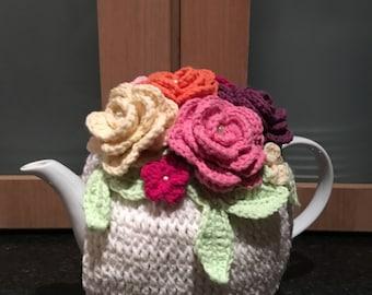 Rose Tea Cozy