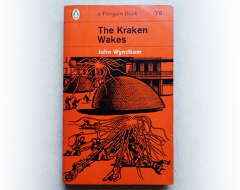 John Wyndham - The Kraken Wakes - Penguin science fiction vintage paperback book - 1963