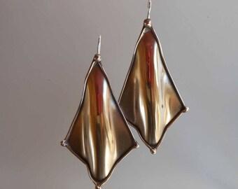 Earrings bronze earrings 0024