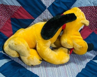 Large Pluto Disney Plush