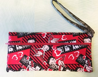 Betty Boop Clutch Large