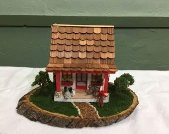 Diorama Grandmas cottage