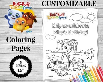 Custom coloring page | Etsy