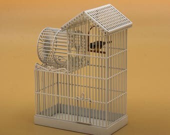 birdcage - dollhouse 1:12th scale - dollshouse miniature