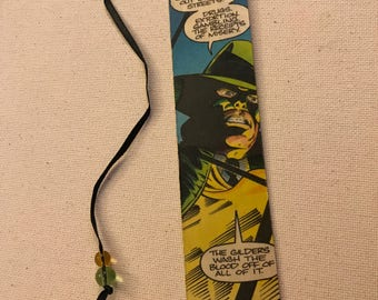 Authentic Green Hornet Comic Strip Bookmark